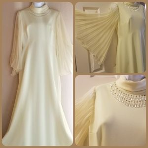 Vintage 60s Evening Gown
